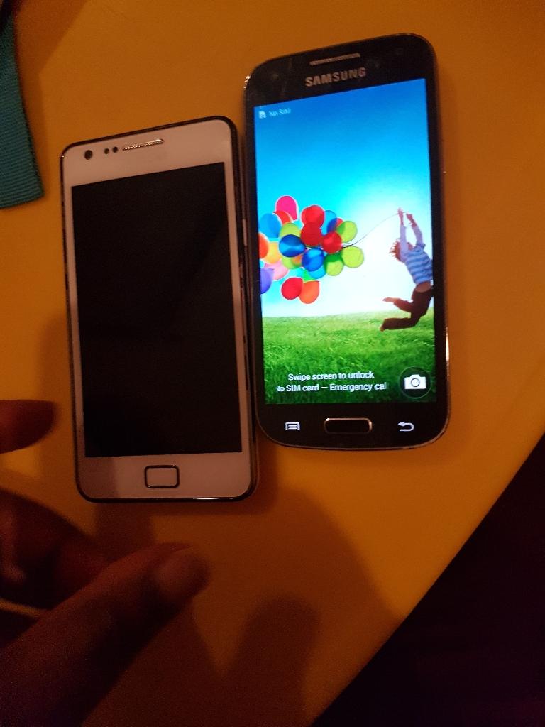 Samsung galaxy S2 And S4mini