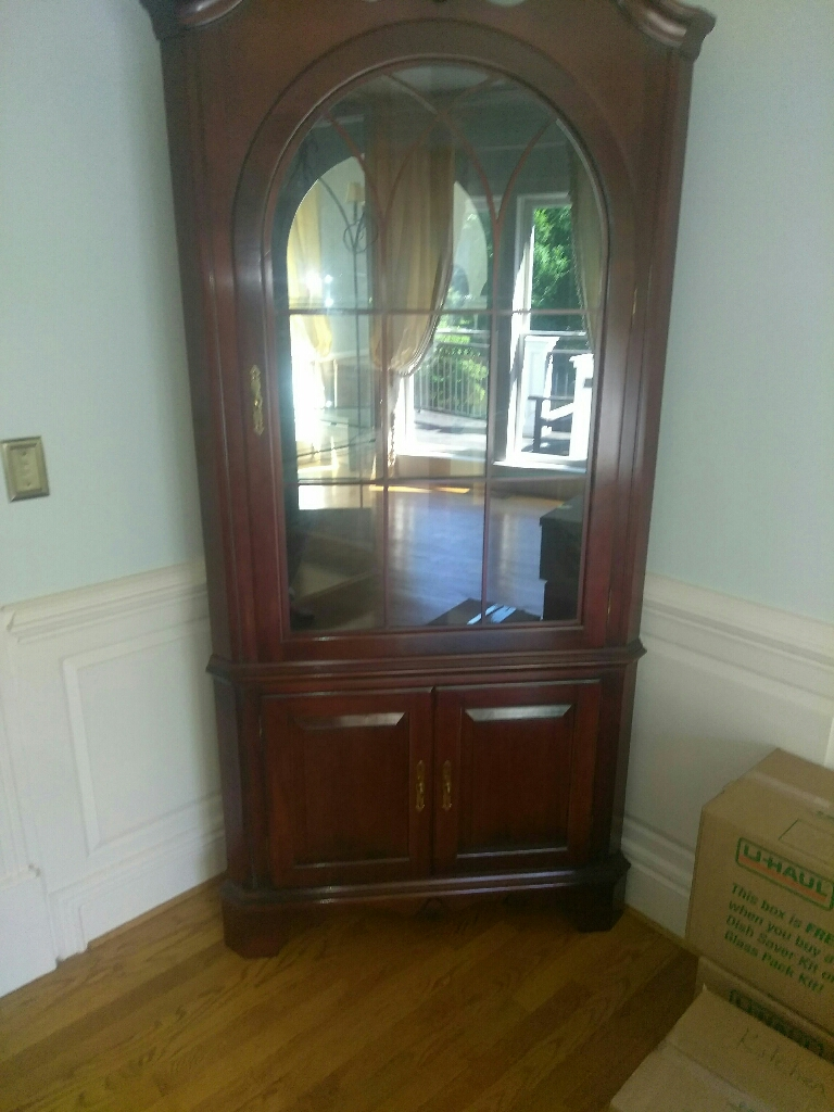 Beautiful  corner cabinet