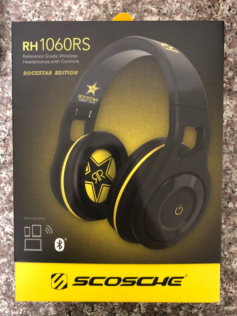 Rockstar energy drink Bluetooth Headphones