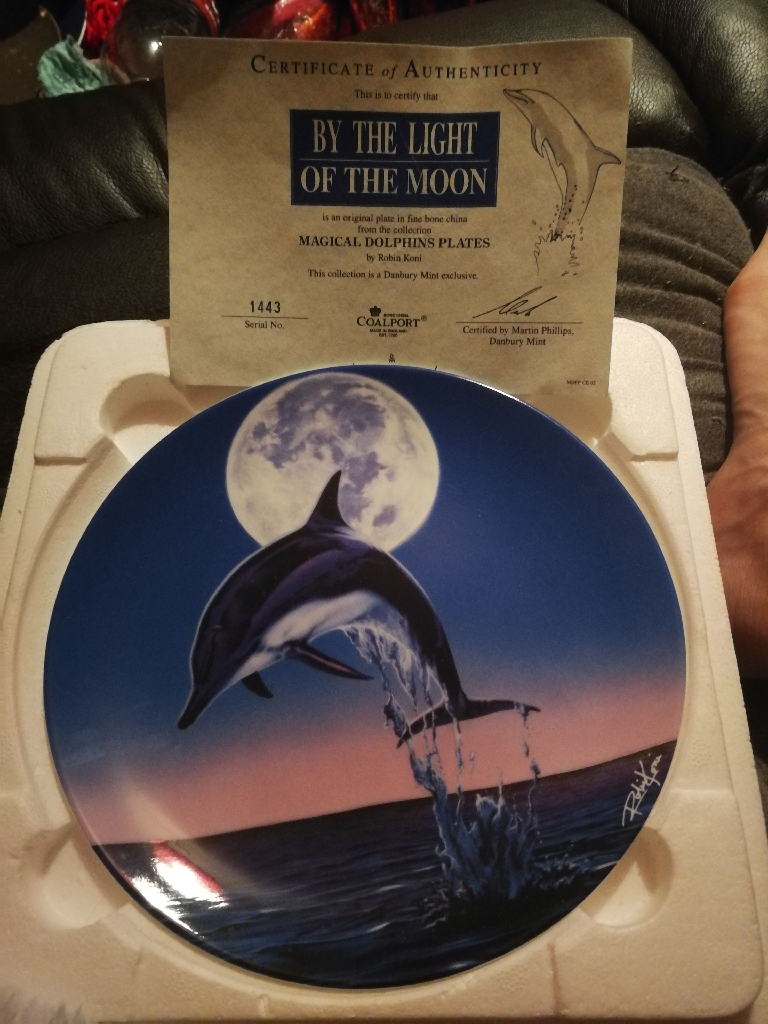 Limited dolphin plates