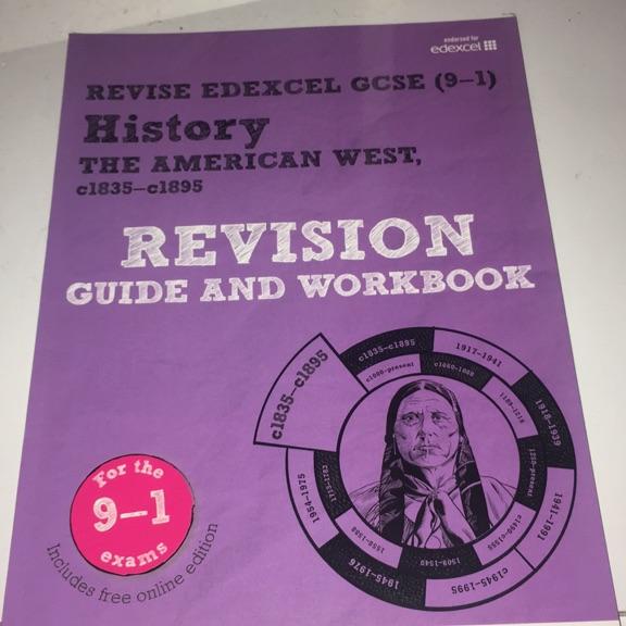 GCSE History revision books