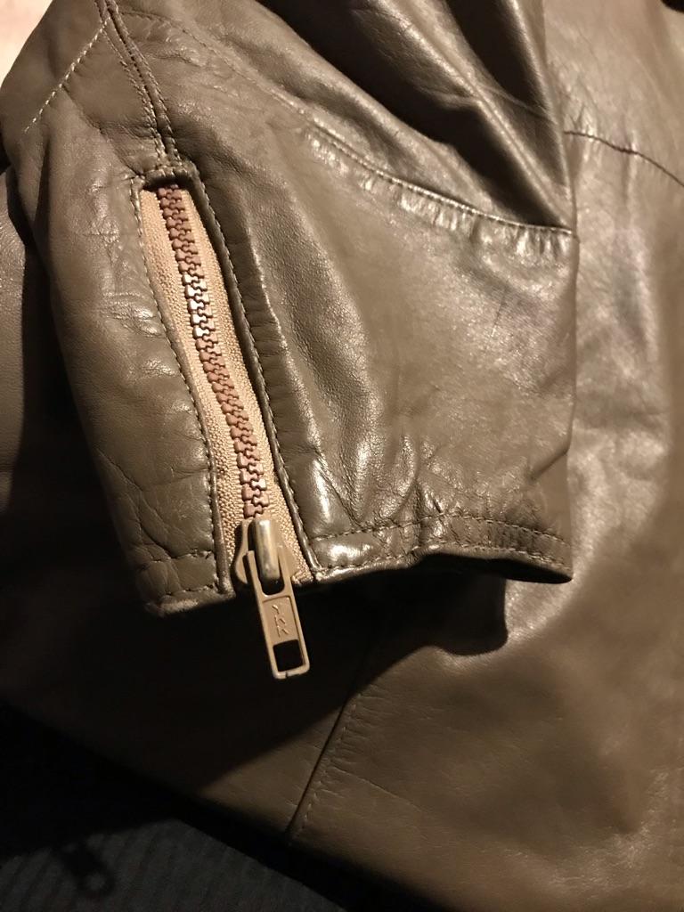 Vintage Bagatelle by Margaret Godfrey Leather Trench Coat