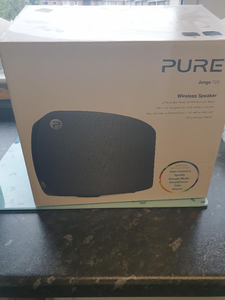 Pure jongo t2x speaker