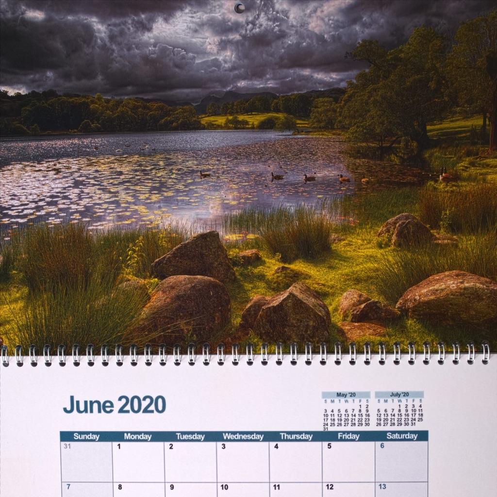 Lake District 2020 Calendar