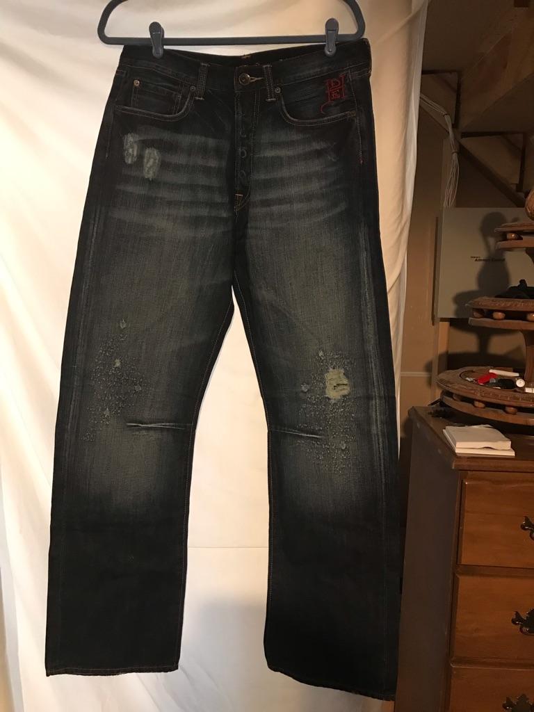 Ed Hardy Distressed Jeans Love Kills Slowly
