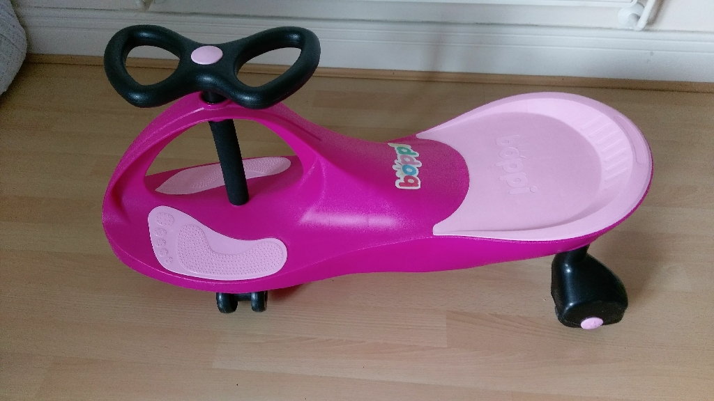 Boppi kids wriggle car/ ride on