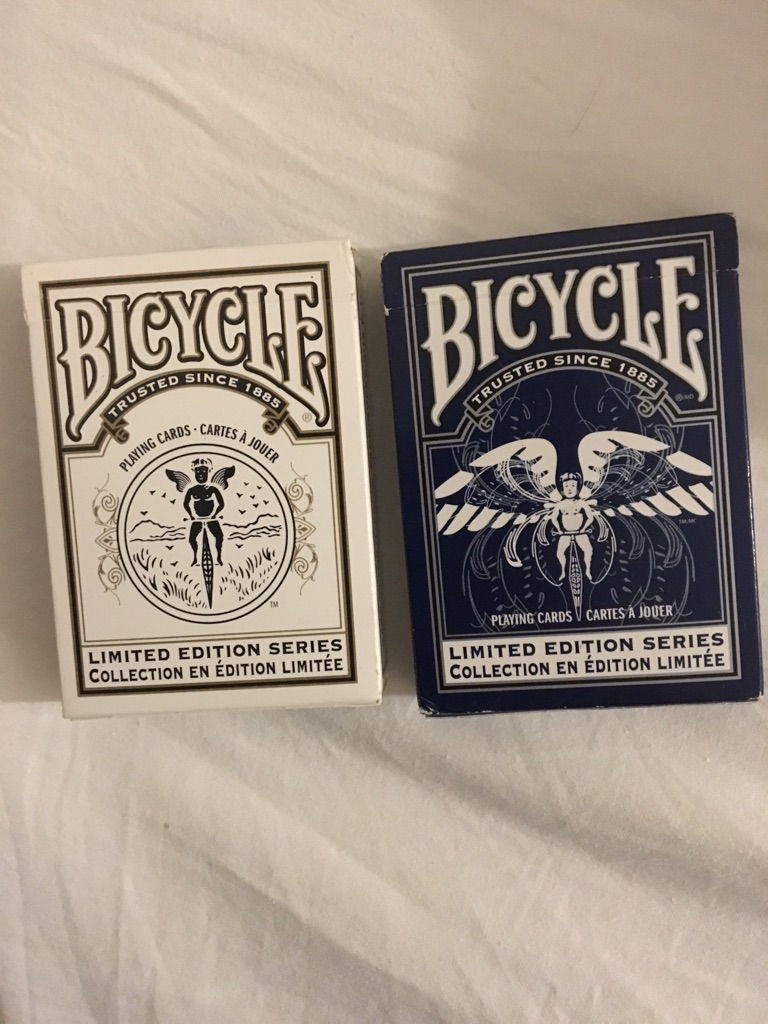 Bicycle Playing Cards LES 1&2.