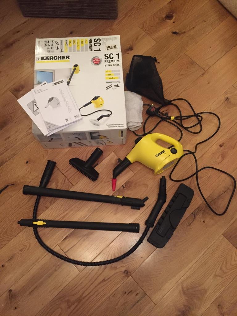 Karcher SC1 steam cleaner - handheld & mop I)
