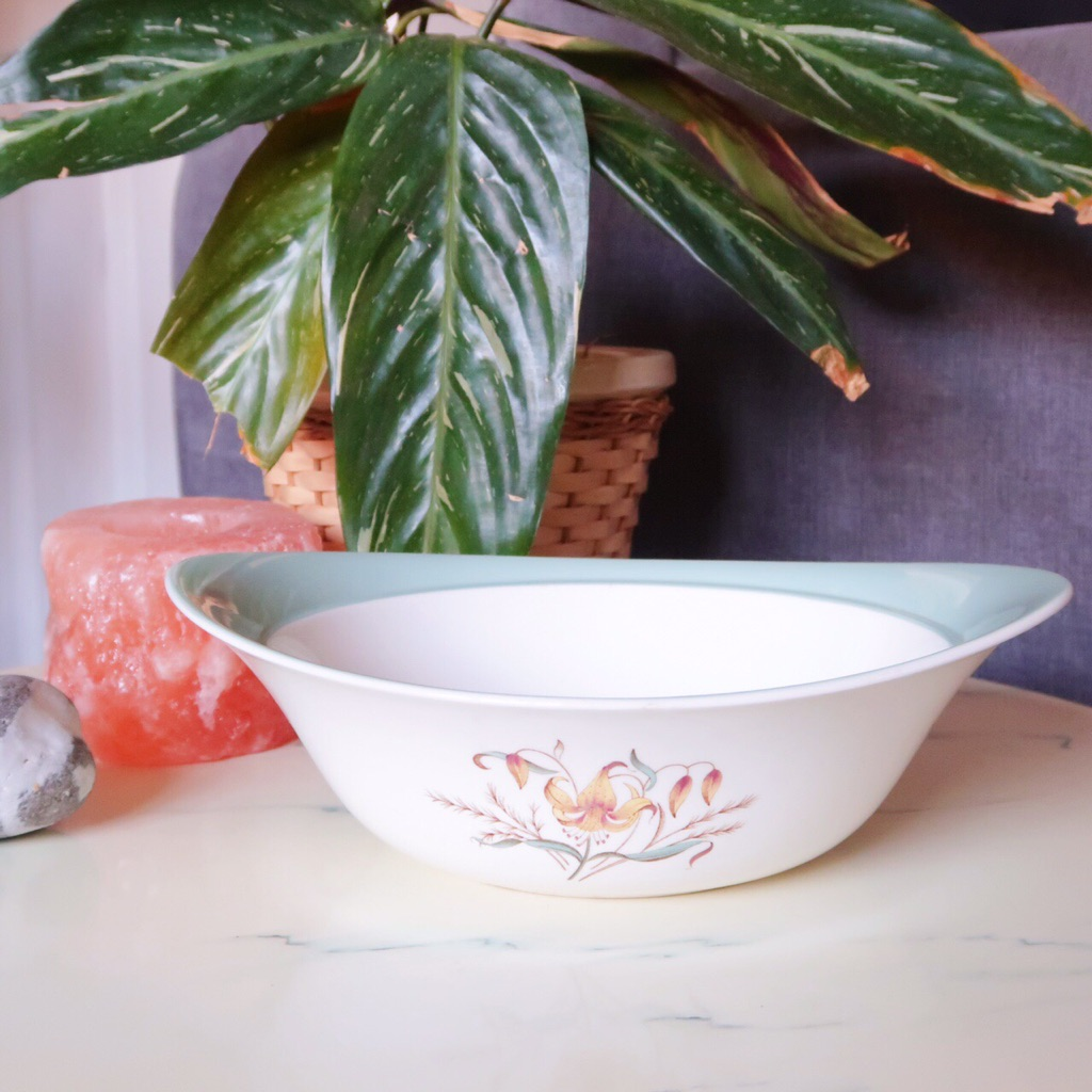 Vintage 1960s Wedgwood 'Tiger Lily' Tureen Serving Dish