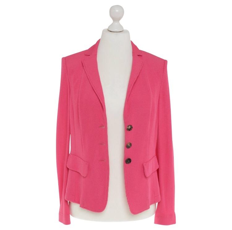 Luisa Cerano Size 16 Blazer in pink