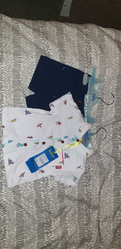 Brand new baby clothes 3 to 6 months