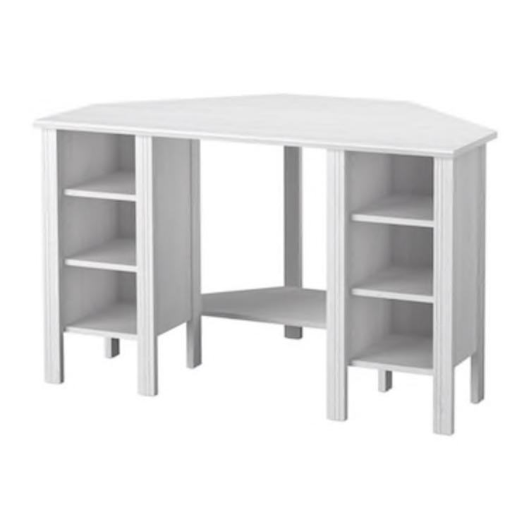 BRUSALI Ikea corner desk