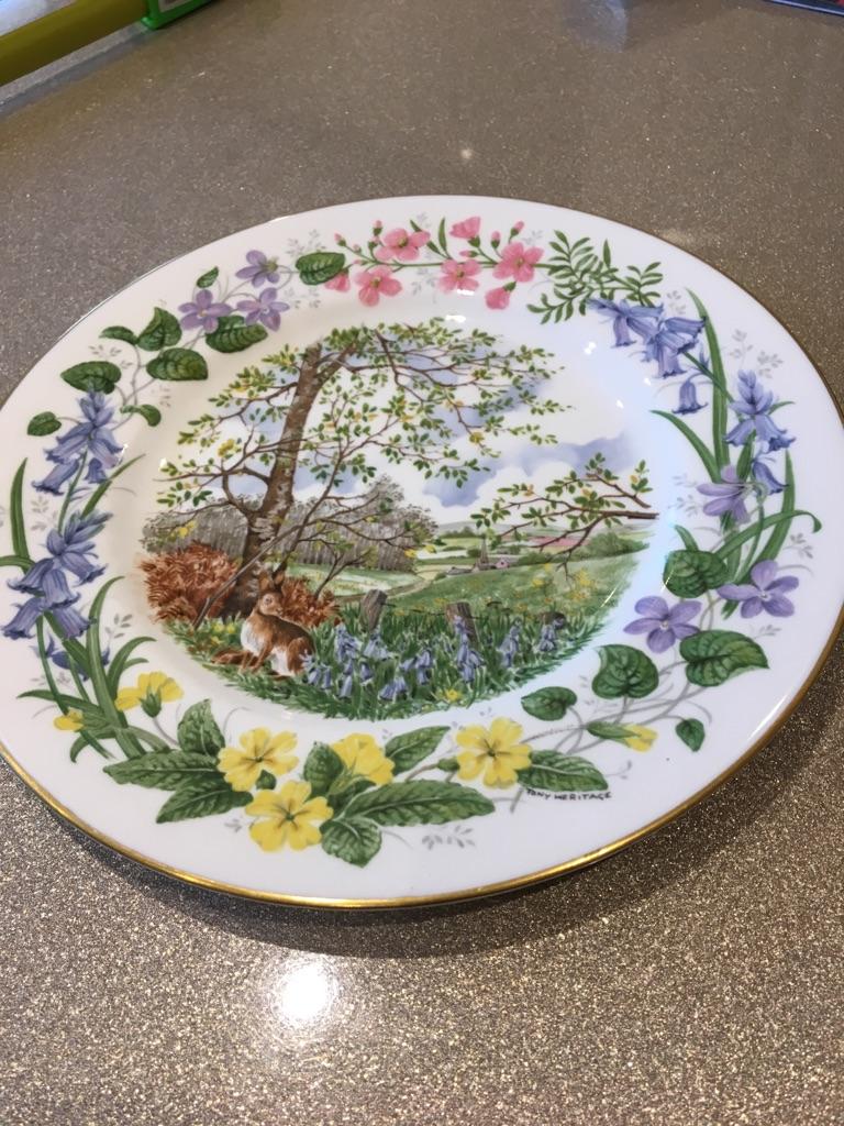 Coalport decorative plate