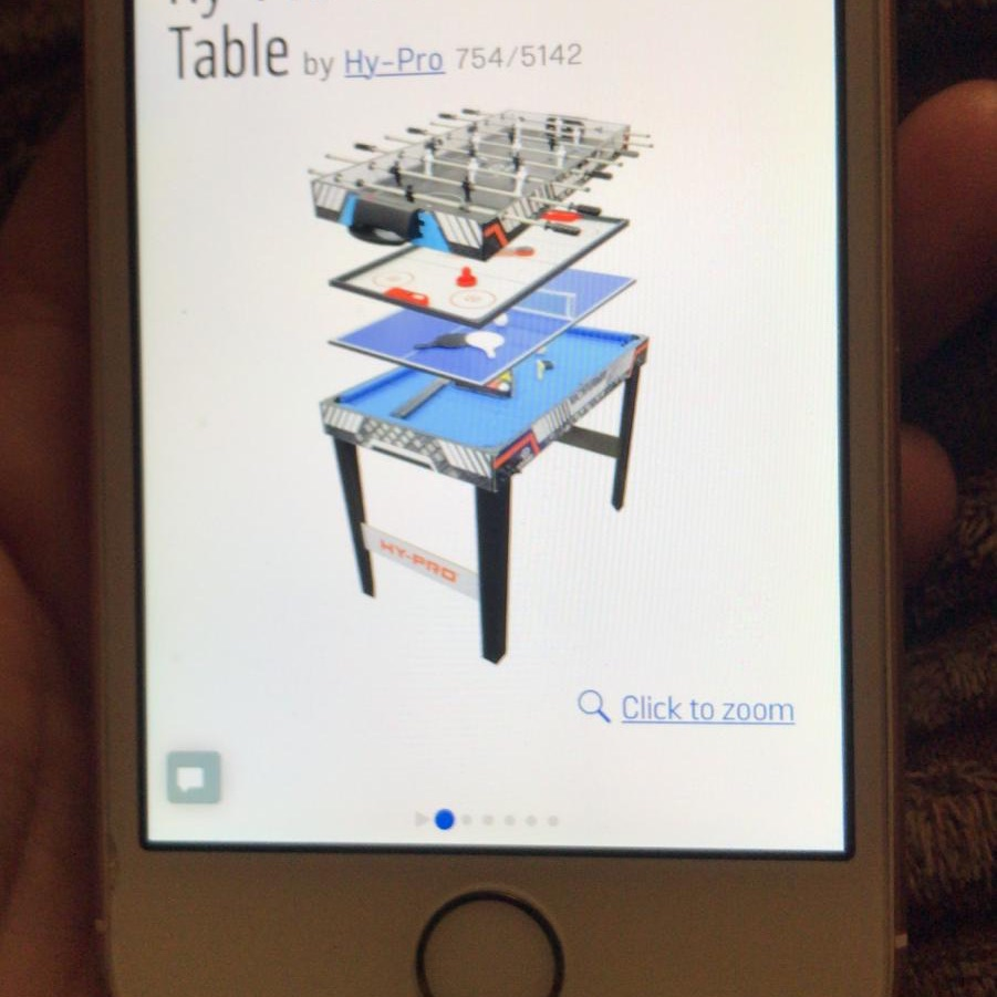 4 in one kids gaming table