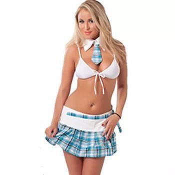School Uniform, Skirt, Top And Neck Tie Regular Price £38.99 Sale Price £32.99