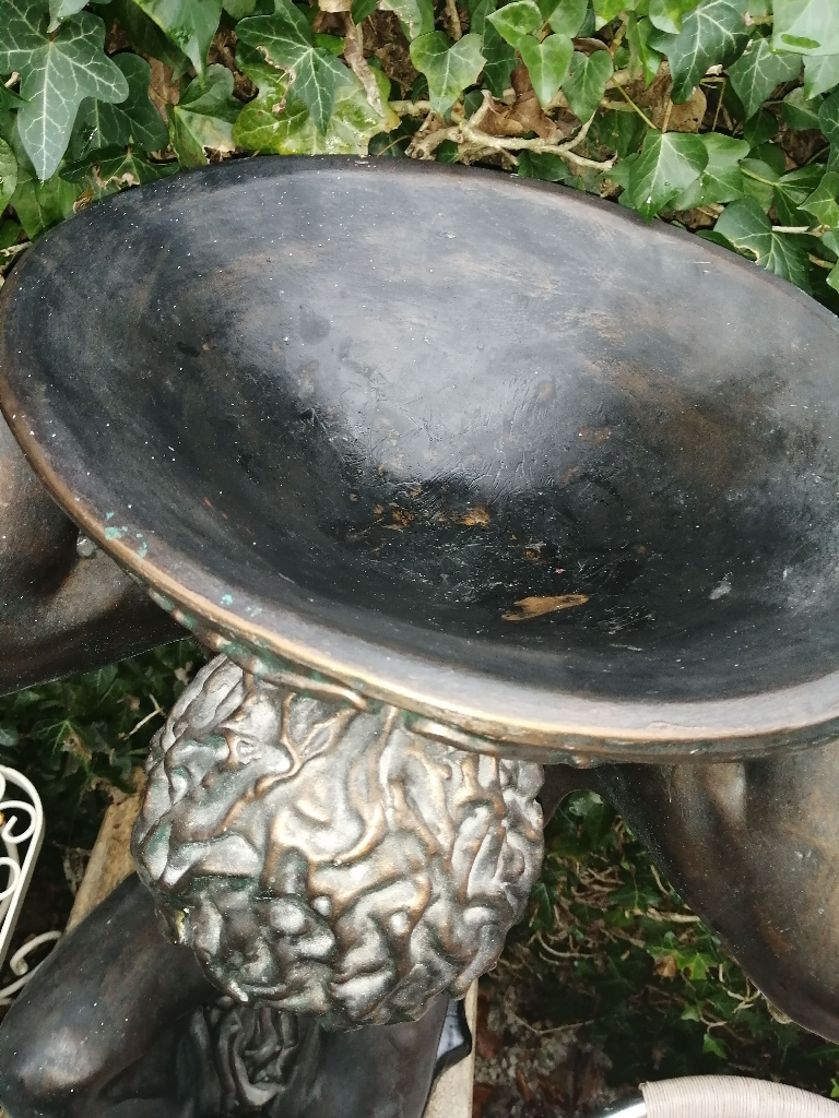 Garden Ornamental Bird Bath