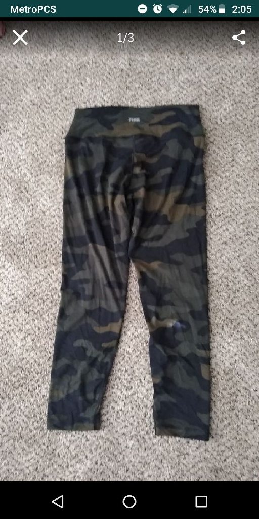 Victoria secrets ultimate pants. Xl