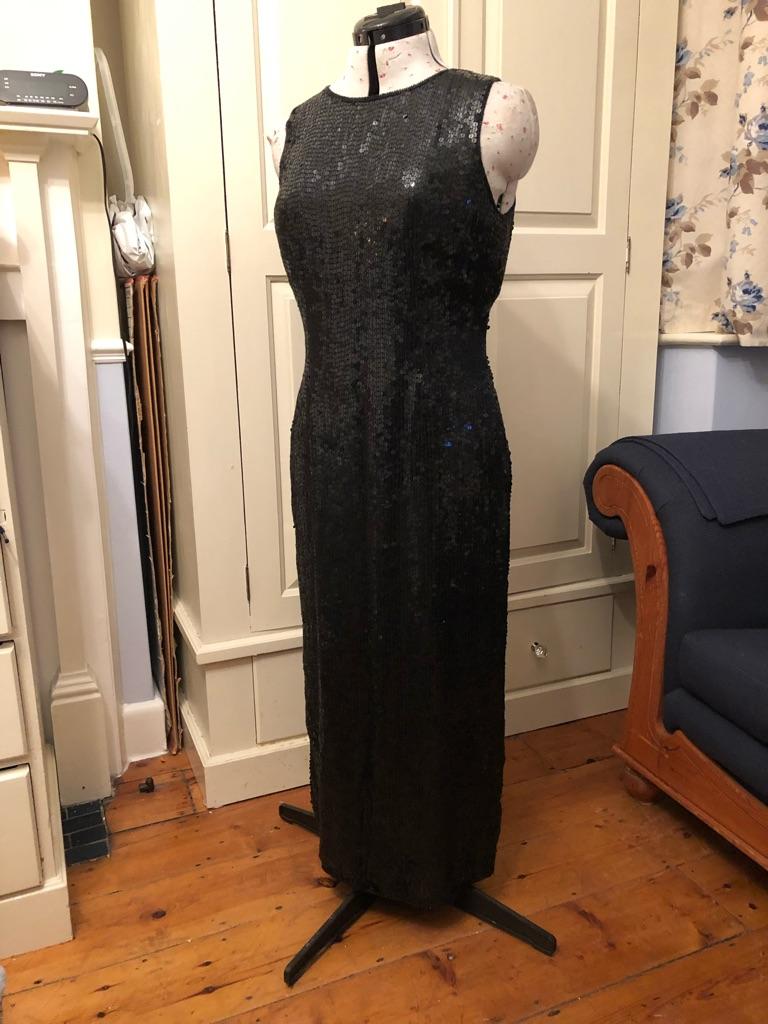Opera Richards blk sequin 3/4 length