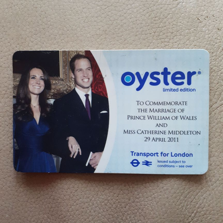 Limited Edition Oyster Card