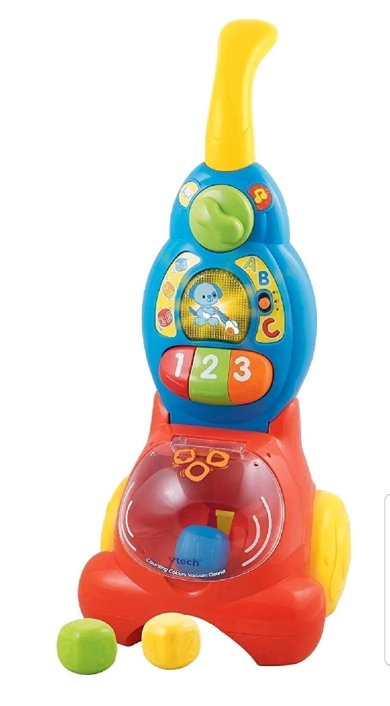 Counting Colours Vtech Vacuum Cleaning