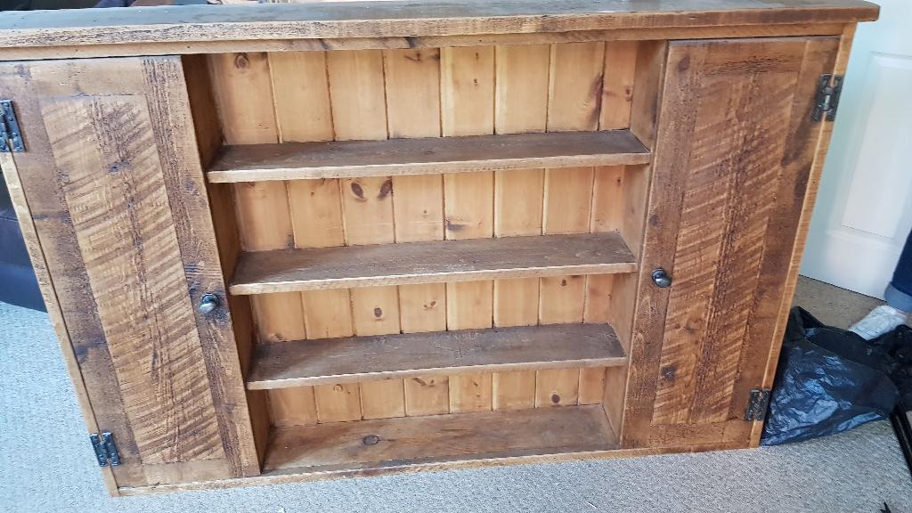 Solid wood bookcase dvd storage