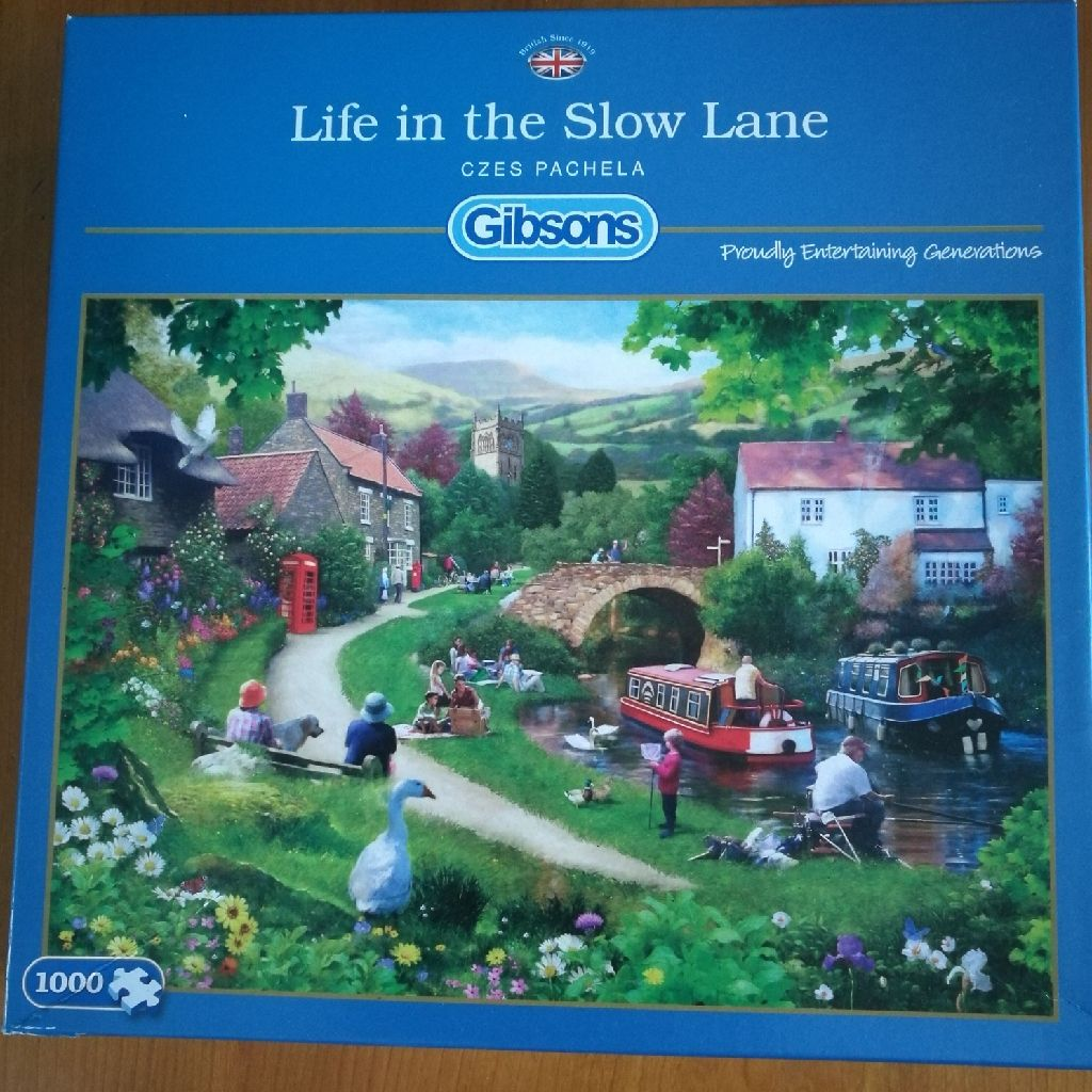 Jigsaw Life In The Slow Lane