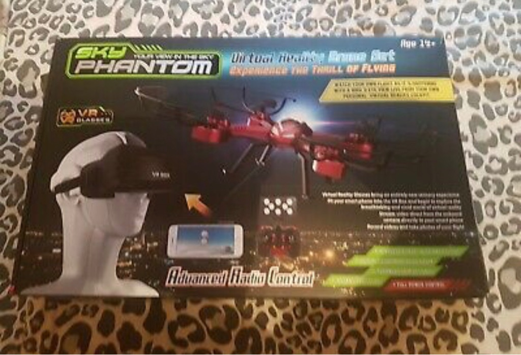 Sky Phantom Virtual reality drone