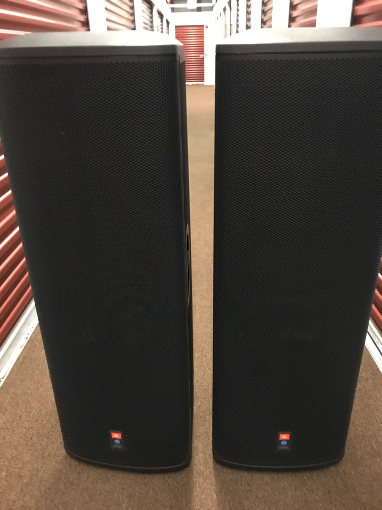 JBL PRX525 POWERED LOUD SPEAKERS