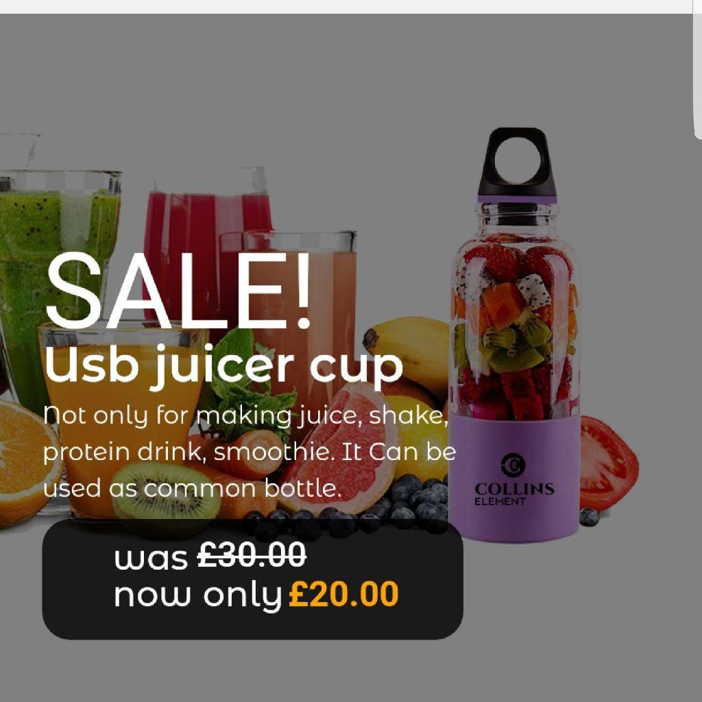 Juicer cup