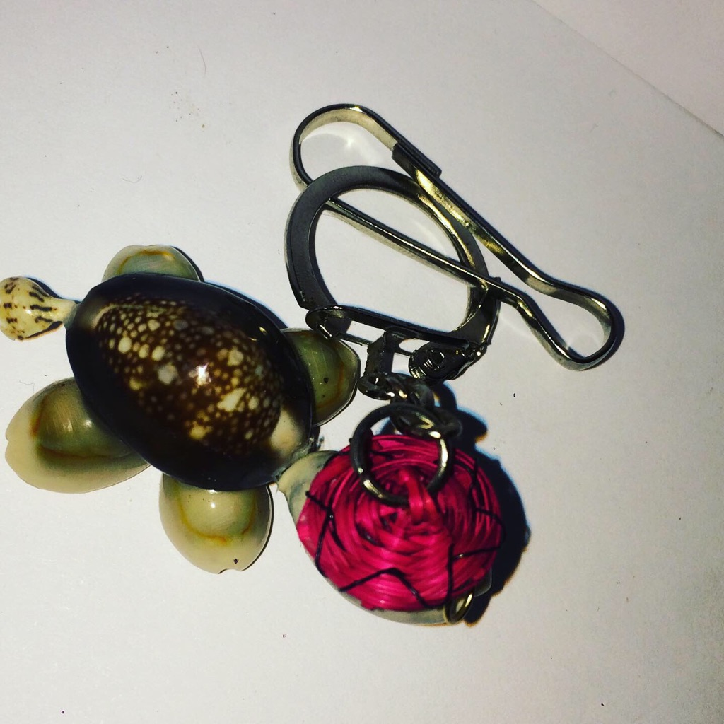 Seashells Snail KeyRing Accessory