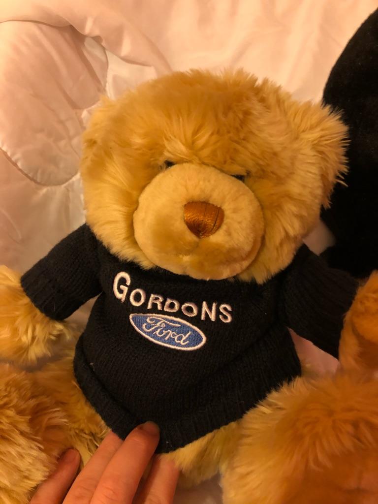 Gordons Ford teddies