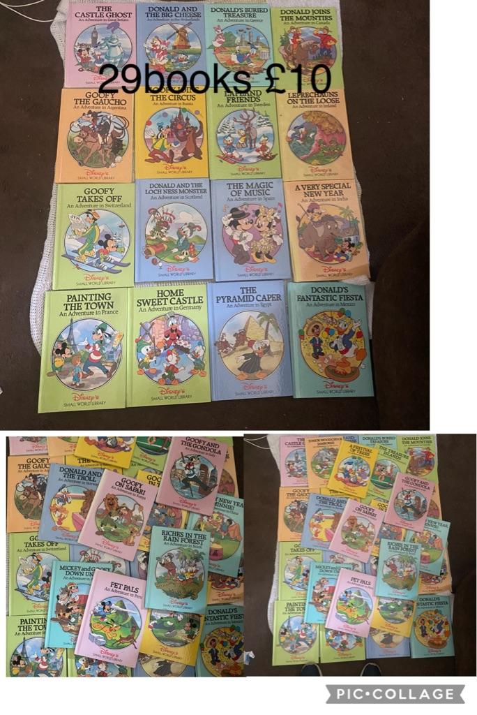 Round the world Disney books