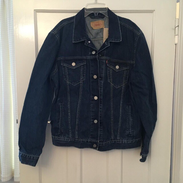 Mens L Levi's denim jacket