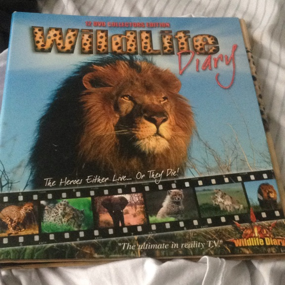 12 DVD collectors edition wildlife diary
