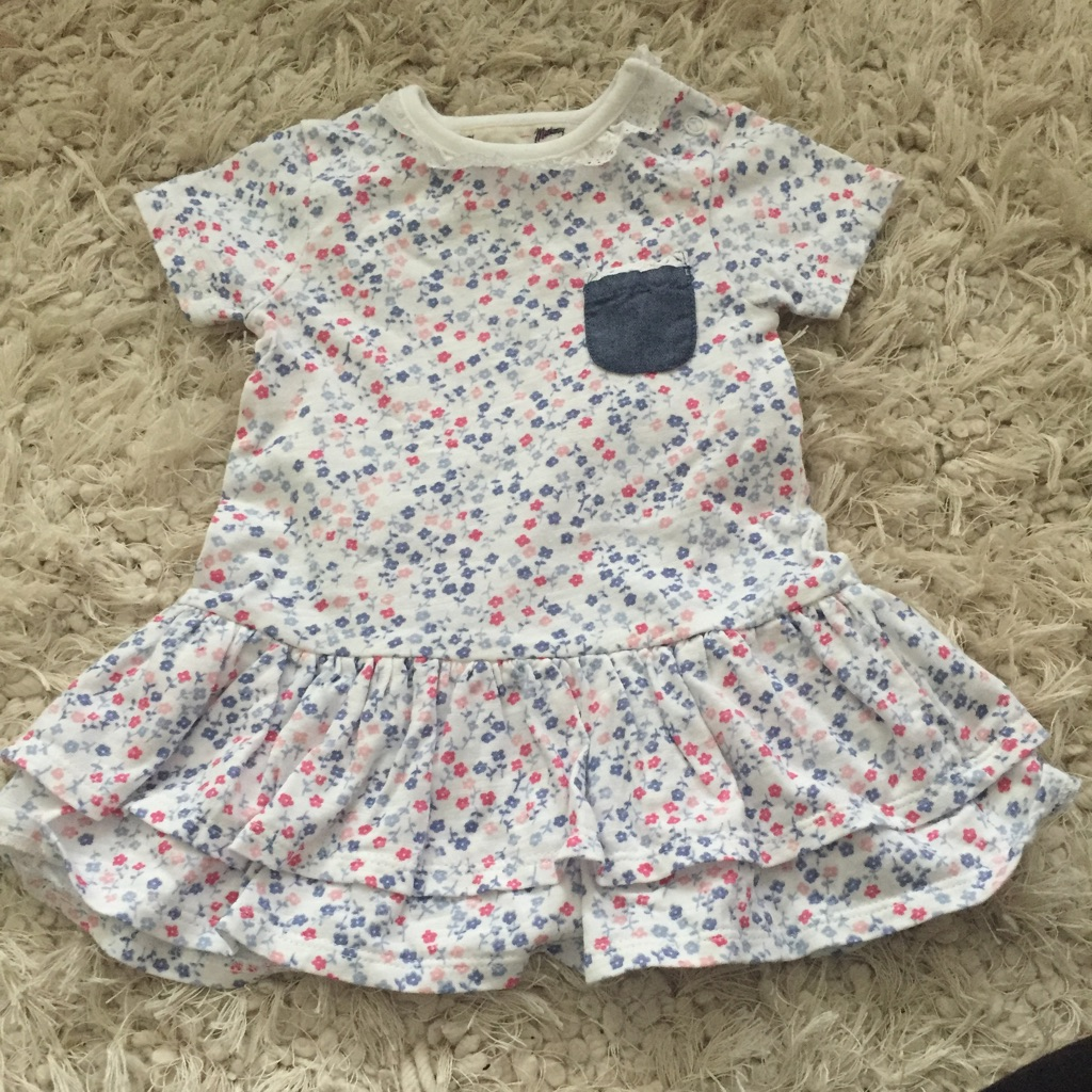 Baby girl tshirt dress