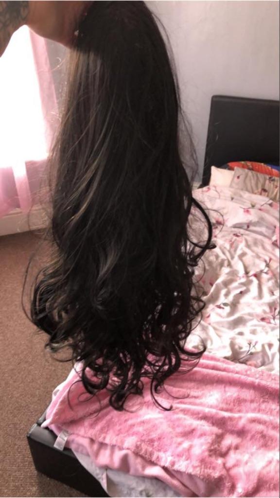 3/4 wig