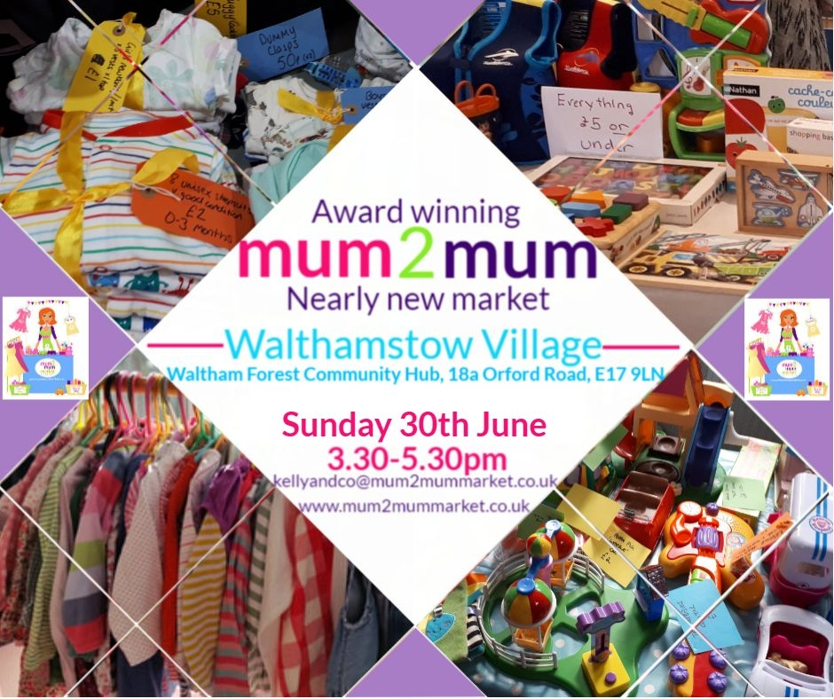 Nearly new & business stalls: Walthamstow Mum2mum baby and children's market