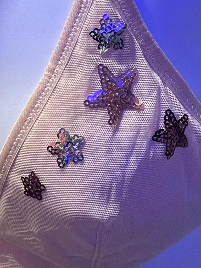 Victoria's Secret Sequin Bralette Size:Large