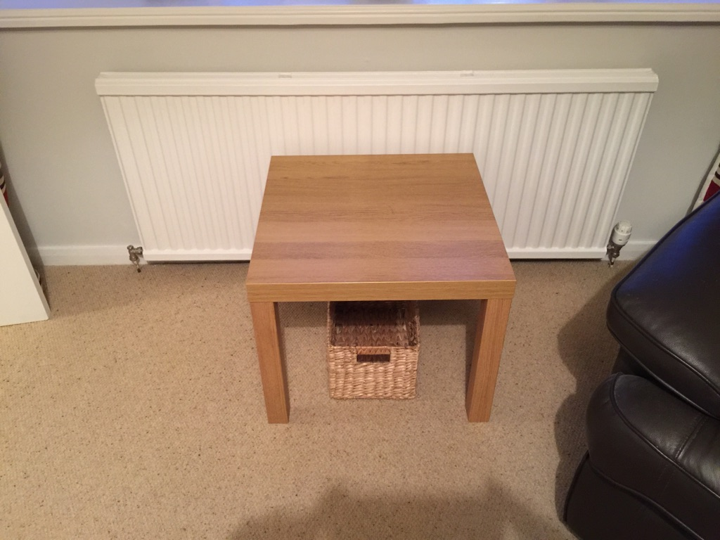 Oak Effect Side Table Ask For Extra Product Image