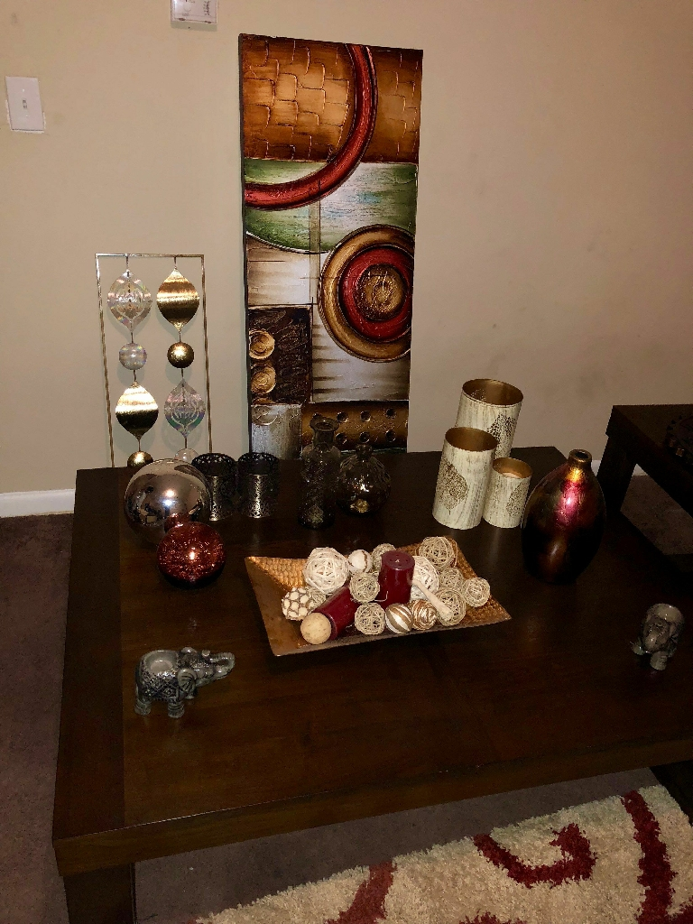 Wall Pictures from $20 to $40, floor Decor $35