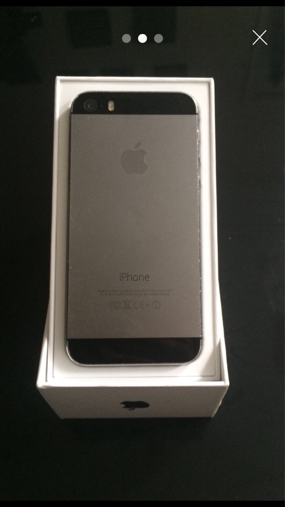 iPhone 5s space grey 64gb