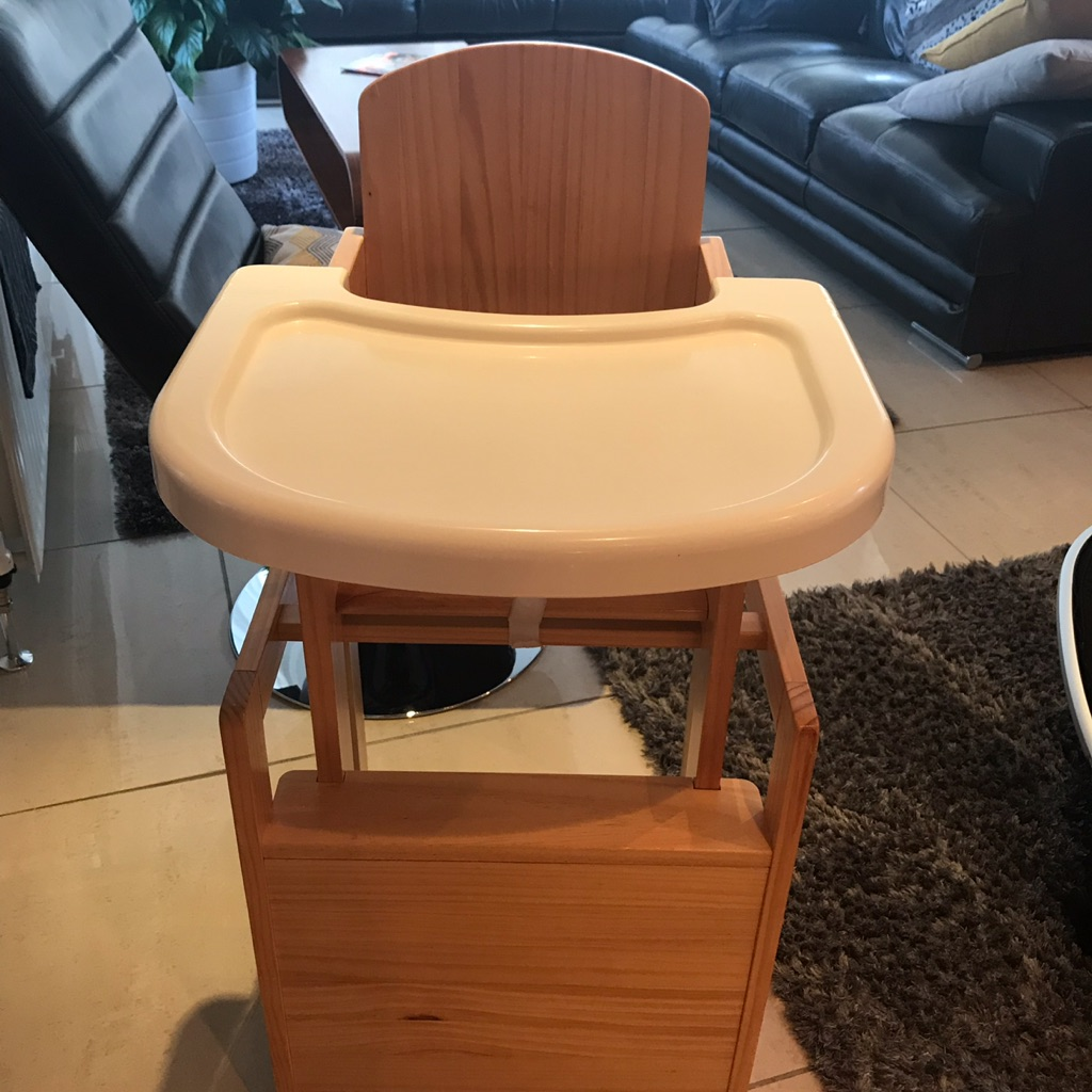 Obaby combination wooden high chair (collection only)