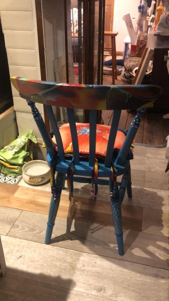 BOHO handmade chair