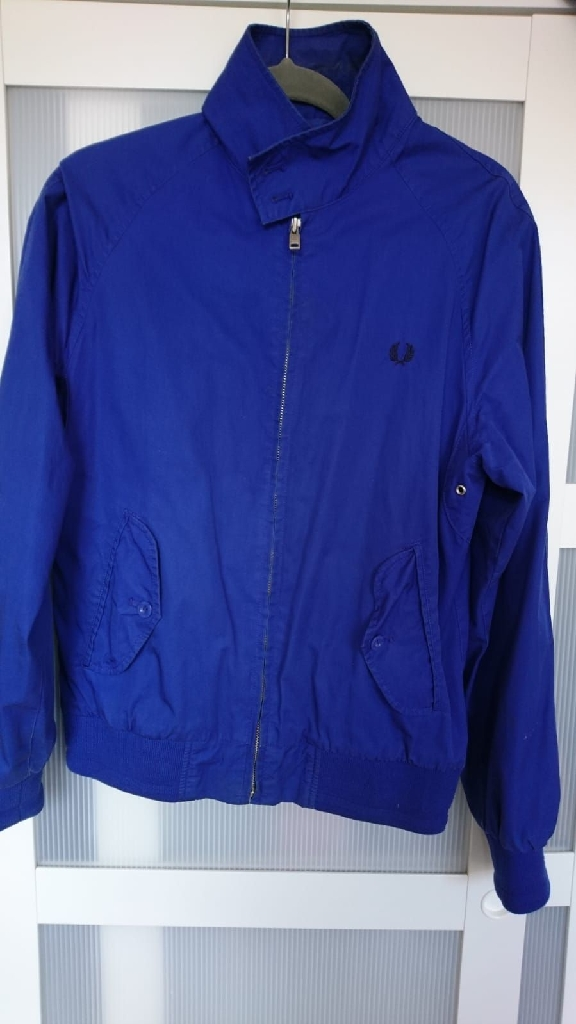 Retro Fred Perry Harrington Jacket UK Size Small.
