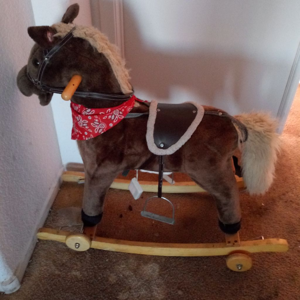 Antique Giddyup Rocking horse