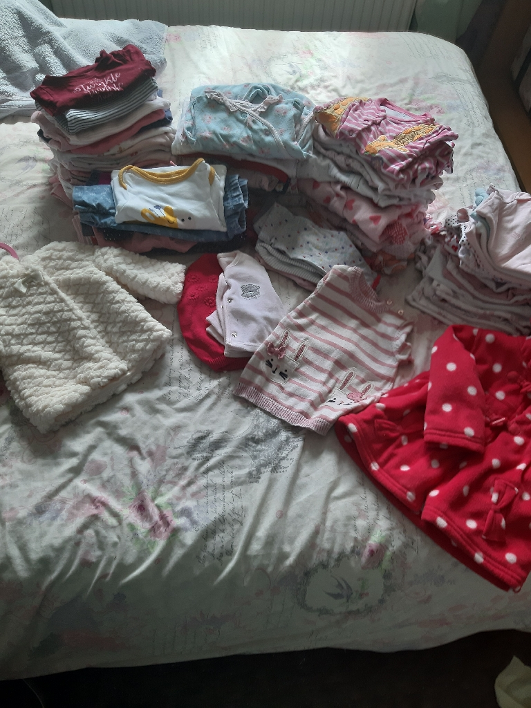 Huge 0-3 month baby girls bundle