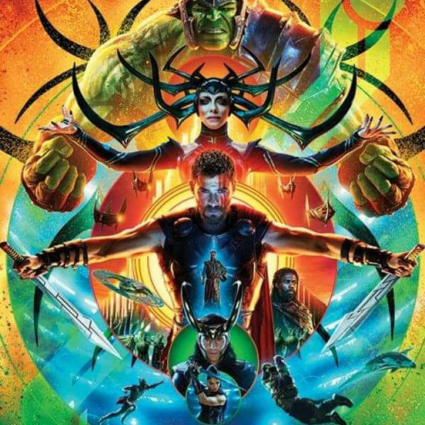 Marvel Thor Ragnarok cinema one sheet poster