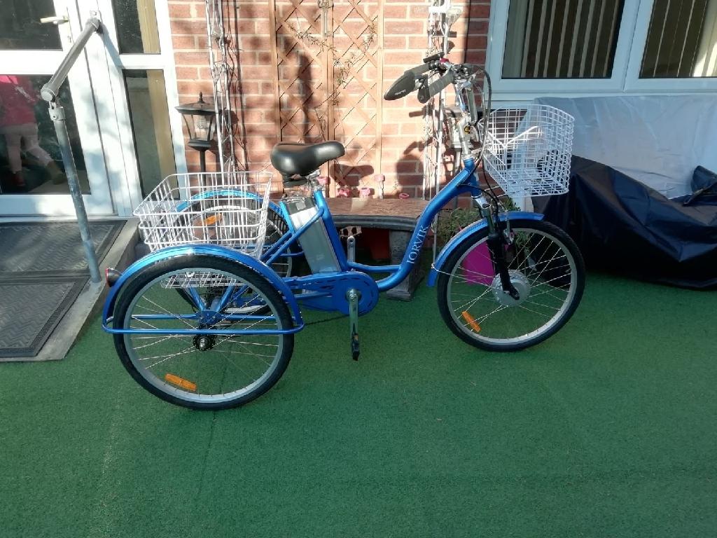 Jorvik Electric Tricycle