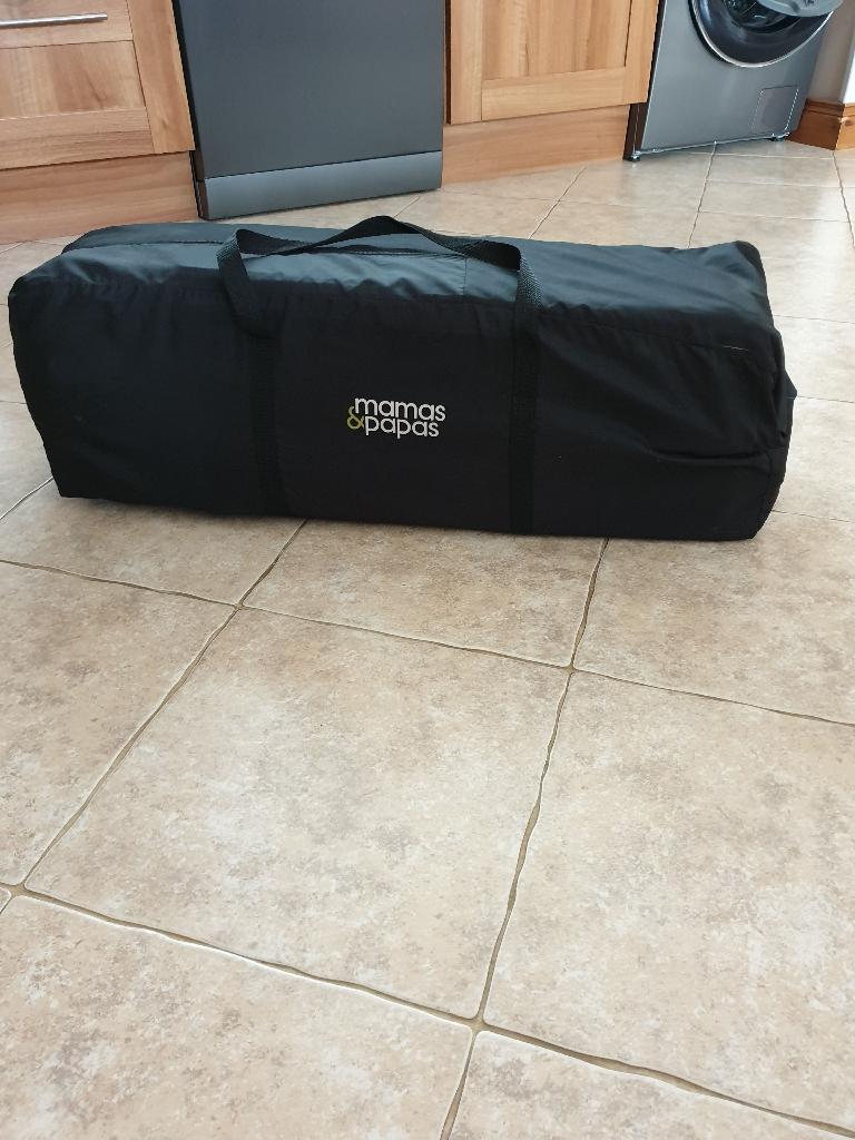 Mamas & papas travel cot with mattress