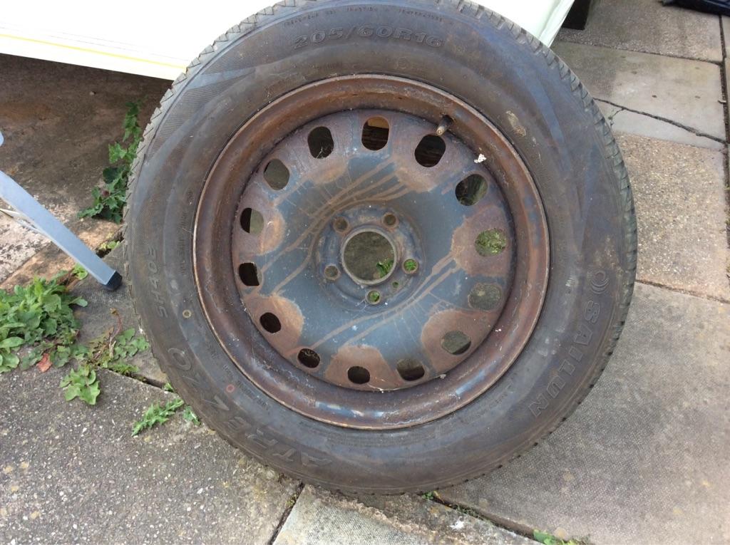 Peugeot 407 tyre & wheel